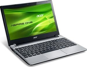 Acer Aspire One 756 silber