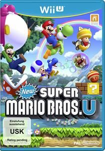 New Super Mario Bros. U Nintendo Wii U Deutsche Version (Art.-Nr. 90483150) - Bild #1