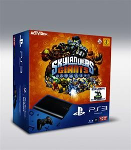 Sony PlayStation 3 SuperSlim 12GB + Skylander Giants Starter Pack (Art.-Nr. 90485286) - Bild #1