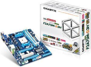 Gigabyte GA-F2A75M-D3H Sockel FM2 M-ATX (Арт. № 90486000) - Изображение #3