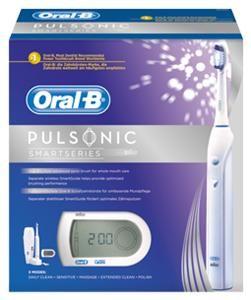 Braun Oral-B Pulsonic SmartSeries Zahnbürste + Gratis SmartGuide weiß (Art.-Nr. 90486076) - Bild #3