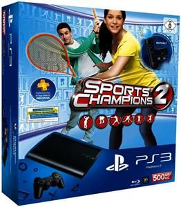 Sony PlayStation 3 SuperSlim 500 GB Move Starter Pack + Sports Champions 2 (Art.-Nr. 90486272) - Bild #5