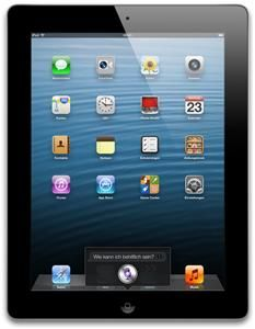 Apple iPad Wi-Fi + Cellular 32GB iOS schwarz (Art.-Nr. 90488668) - Bild #1