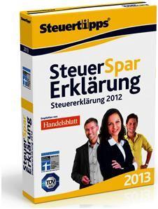 Akademische Arbeitsgemeinschaft Steuer-Spar-Erklärung 2013 (für Steuererklärung 2012) (Art.-Nr. 90488815) - Bild #1