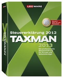 Lexware TAXMAN 2013 (Art.-Nr. 90493043) - Bild #1