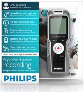 Philips Voice Tracer DVT5000 (Art.-Nr. 90494124) - Bild #5