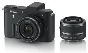 Nikon 1 V1 Kit VR 10-30 Kit schwarz EU (Art.-Nr. 90495939) - Bild #1