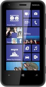 Nokia Lumia 620 Windows Phone, Smartphone  in schwarz  mit 8 GB Speicher