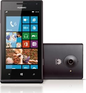 Huawei Ascend W1 4GB WP8 schwarz  , (Article no. 90498852) - Picture #1