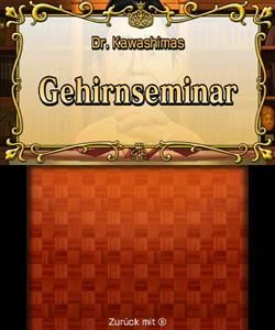 Dr. Kawashimas diabolisches Gehirn Jogging (3DS) DE-Version (Art.-Nr. 90498947) - Bild #3
