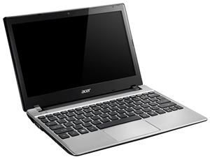 Acer Aspire One 756 W8 silber