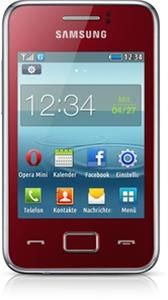 Samsung Rex 80 S5220 Android rot (Арт. № 90506657) - Изображение #3