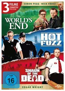Cornetto Trilogie (World's End / Hot Fuzz / Shaun of the Dead) (DVD) DE-Version (Art.-Nr. 90563050) - Bild #1