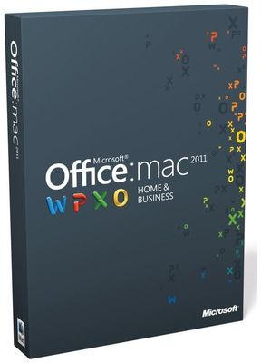 Microsoft Office für Mac Home & Business 2011 Mac DE 1 User Product Key Card (Article no. 90392071) - Picture #1