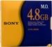 """Sony 5.25"""" Optical Disc 4.8GB"""