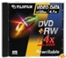 Fuji DVD+RW 4,7GB 4x Jewelcase 5er Pack