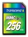 Transcend Multi Media Karte 256MB MMC