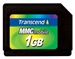 Transcend RS Multi Media Karte 1GB