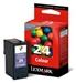 Lexmark Nr.24 Rückgabe Tinte Farbig