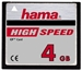 Hama Compact Flash Karte 4GB