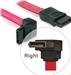 DeLOCK SATA Kabel 100cm unten gewinkelt/gerade rot