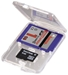 Hama SD und microSD Slim Box transparent