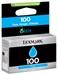 Lexmark Nr.100 Return Tinte Cyan