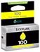 Lexmark Nr.100 Return Tinte Gelb