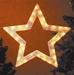 Hellum Fenster Profil Licht Stern klar