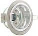 DeLOCK Lighting GX53 Aufbaufassung rund