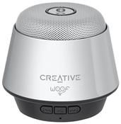 Creative Woof Bluetoothlautsprecher chrome