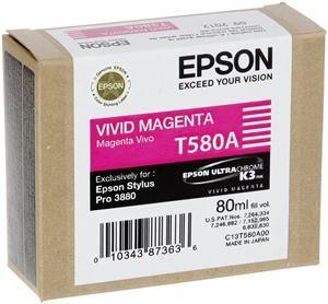 epson t580a tinte klar magenta tintenpatronen computeruniverse. Black Bedroom Furniture Sets. Home Design Ideas