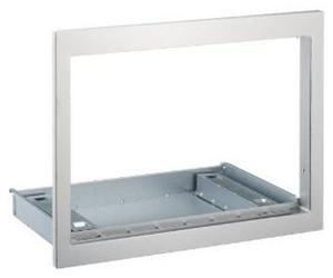 fagor me4 17x edelstahl einbaurahmen f r mikrowellen f r 60er schr nke. Black Bedroom Furniture Sets. Home Design Ideas
