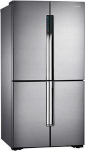 Samsung RF905VCLASL/ES Edelstahl Side by Side, French Door, Höhe ...