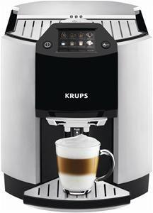 krups ea 9010 espresso kaffee vollautomat edelstahl schwarz aluminium kaffeevollautomaten. Black Bedroom Furniture Sets. Home Design Ideas